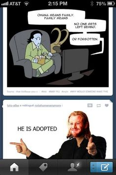 this is the saddest thing I've ever seen but I can't stop laughing at Thor's facial expression