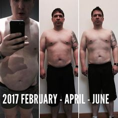 WHY DO I DO THIS JOB?  Because of people like Gary  This man has managed to achieve this amazing transformation on his way to becoming a universal athlete which is what I aim for all of my clients  He has worked very hard and kept a disciplined diet in order to not only achieve visual improvement but more importantly - FEEL GREAT ABOUT HIMSELF!  I am proud of him and can't wait to see more results out of him  P.S. maybe you are asking yourself why you don't see pictures of me without my top…