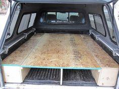 Tacoma Sleeping Platform, Carpet Kit, Camping Setup - YotaTech Forums