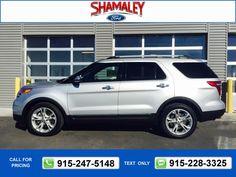 2013 Ford Explorer Limited 77k miles $25,995 77169 miles 915-257-6589 Transmission: Automatic  #Ford #Explorer #used #cars #ShamaleyFord #ElPaso #TX #tapcars