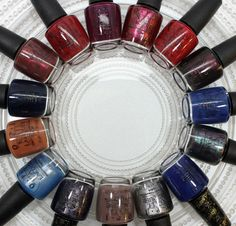 OPI San Francisco Collection F/W '13 -- 'Lost On Lombard' & 'In The Cable Car Pool Lane'.... want!