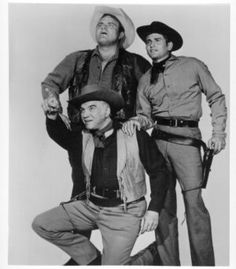 Lorne Greene, Dan Blocker, and Michael Landon
