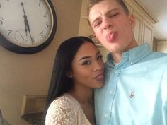 Beautifully silly interracial couple #love #wmbw #bwwm