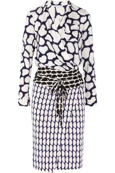 Diane von Furstenberg | Terry printed silk-jersey wrap dress | NET-A-PORTER.COM ...  oh man..want this in my closet nowwwwww!