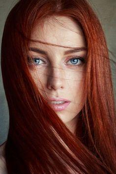 Color de pelo para pecosas
