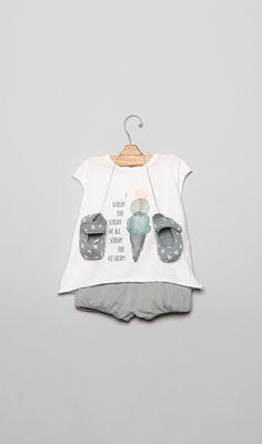 Conjuntos para bebé en la Tienda Online Nícoli Nicoli L1601032-bb Bebe
