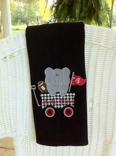 Alabama Decorative Towel. $15.00, via Etsy.