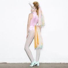 Pastel Unicorn costume to brighten up your Halloween night