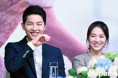 Song Joong Ki and Song Hye Kyo ViuTV