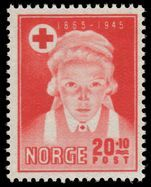 Norway 1945 Red Cross unmounted mint.