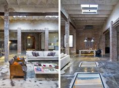 Amazing Warehouse conversion in Barcelona | HomeDSGN