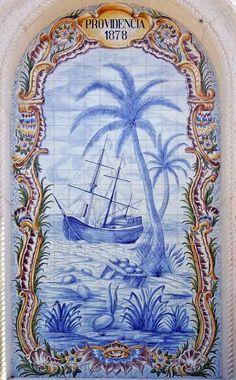 iconic <3 blue & white - ships
