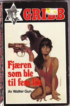 Fjæren som ble til fem lik - Gribb-serien 42 av Walter Gun Guns, Reading, Memes, Books, Movie Posters, Weapons Guns, Libros, Meme, Book