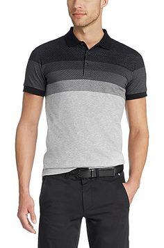 'Paule'   Slim Fit, Cotton Polo Shirt , Black