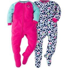 Gerber Toddler Girl Blanket Sleeper, 2-pack, Size: 5 Years