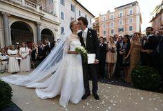 05.07.2014 : prince Amédéo et Elisabetta Maria Rosboch von Wolkenstein