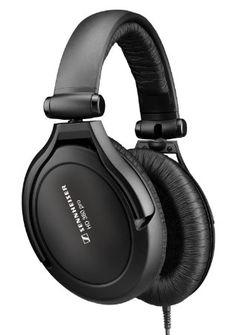 Sennheiser HD 380 Pro Collapsible High-End Headphone for Professional Monitoring Use (Black) #sennheiser #electronics