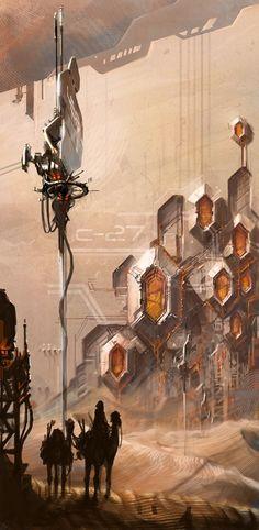 Digital Painting by 2sympleks , via Behance