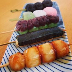 Japanese Sweets, dango