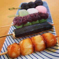 Japanese Sweets, dango