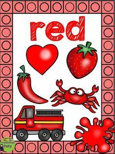 Creaciones Paty Preschool Worksheets, Preschool Crafts, Color Flashcards, Sensory Activities Toddlers, Learning Colors, Color Shapes, Kindergarten, Teaching, Google