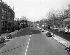 1941.  Delaware Avenue in Wilmington, DE.  1540-000-009 #1991.  Delaware Public Archives.  www.archives.delaware.gov