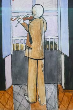 The violinist at the window, Henri Matisse, 1918