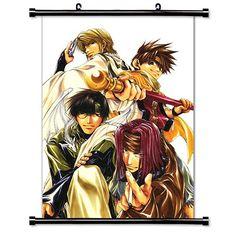 "Saiyuki Anime Fabric Wall Scroll Poster (16""x22"") Inches. [WP] Saiyuki 18 WallScrollPosters http://www.amazon.com/dp/B00SD0E89S/ref=cm_sw_r_pi_dp_H3Axwb1P2W435"