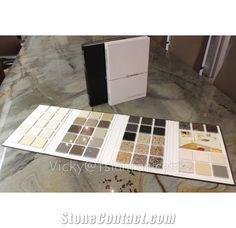 Multipage Book Style Floor Tile Stone Sample Brochure