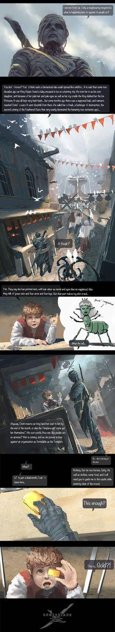 GhostBlade :: Chapter 1 : Ice Princess (A) | Tapastic Comics - image 2