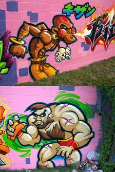 Street Fighter Street Art
