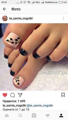 unghie Pretty pedicures classy pedicure classy 23 ideas for 2019 Pretty Pedicures, Pretty Toe Nails, Cute Toe Nails, Pedicure Nail Art, Toe Nail Art, Pedicure Ideas, Summer Toe Nails, Coffin Nails Long, Toe Nail Designs