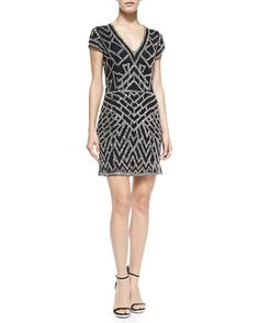 Beautiful and attractive shining ladies black dress. Short ladies party dress, Slim and smart bodies. Attractive looking for ladies in functions and parties.