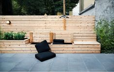 ***not keen on design, but like the functionality**** Cool Ikea Storage Bench mode New York Contemporary Patio Decoration ideas with bamboo bench bench storage bluestone garden hanging light hardscape Landscape outdoor light pavers planter Storage Bench Seating, Outdoor Storage, Patio Storage, Booth Seating, Entryway Storage, Seat Storage, Banquette Seating, Hidden Storage, Extra Storage