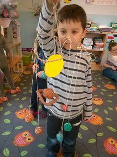 Planety w wykonaniu przedszkolaków z przedszkola Świat Dziecka #przedszkole #planety #diy