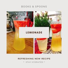 Homemade lemonade does not need to be so sweet you feel like you have to book a dentist appointment after drinking a glass of it. Easy Food To Make, How To Make, Dentist Appointment, Homemade Lemonade, Stay Hydrated, Spoons, New Recipes, Drinking, Berries