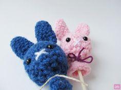 Little Things Blogged: {Amigurumi Bunny Pops}