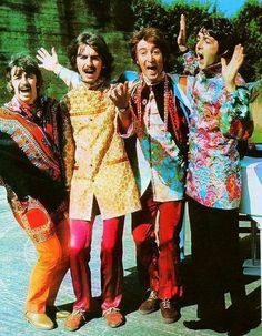 Ringo. George. John. Paul