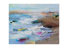 Sea Dunes  Original Plein Air Oil Painting by AnnaFineArtStudio