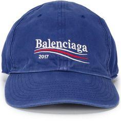 b4ec233128d Balenciaga 2017 logo cap ( 320) ❤ liked on Polyvore featuring men s  fashion