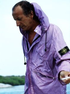 Holy Grail of Stone Island - Ice Jacket 1988 and maestro Massimo Osti in this…