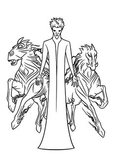 free rise of the guardians coloring pages | Jack Frost from Rise of the Guardians coloring pages for ...