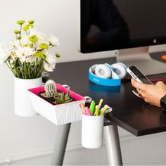 DIY Clip-On Desk Organization Ideas