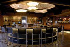 Japengo Restaurant bar area in Hyatt Maui