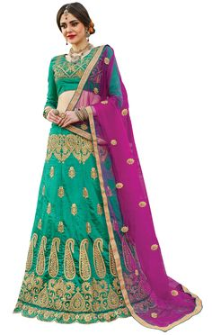 Lehenga Choli Online, Silk Lehenga, Sari, Manish Malhotra, Embroidered Blouse, Blouse Designs, Fancy, Bridal, Pastel Pattern