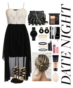 """""""Untitled #20"""" by beanie-wearinggeek ❤ liked on Polyvore featuring Pilot, GUESS by Marciano, CLUSE, Accessorize, Christian Dior, Arbonne, MAC Cosmetics, Chanel, Charlotte Russe and Maybelline"""