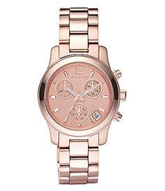Michael Kors Runway Chronograph Watch #Dillards