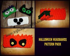 Halloween Headbands Pattern Pack