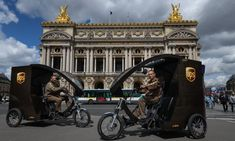 UPS Committed to Electric Vehicles on an AI Platform - Artificial Intelligence - JAAGNet Delivery Companies, Ups Delivery, Ups Shipping, United Parcel Service, Energy Resources, Seattle Area, Sustainable Development, Paris, Stock Market
