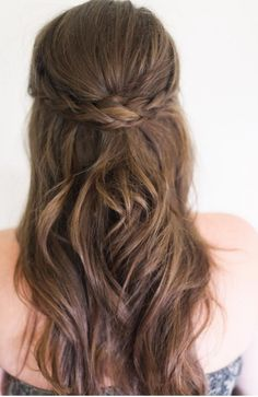 Wedding Trend We Love: Bridal Braids - half up braid
